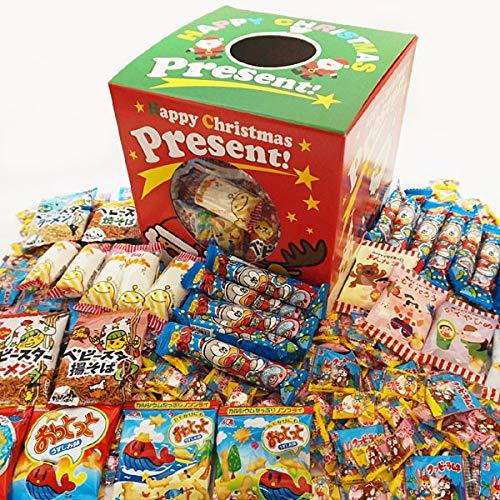 クリスマスBOX 色々お菓子と飴・ラムネ700個つかみどり 景品セット 3367