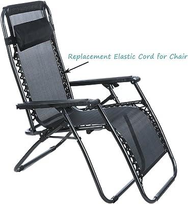 Zero gravity chair OEM universal replacement elastic bungee cords NEW