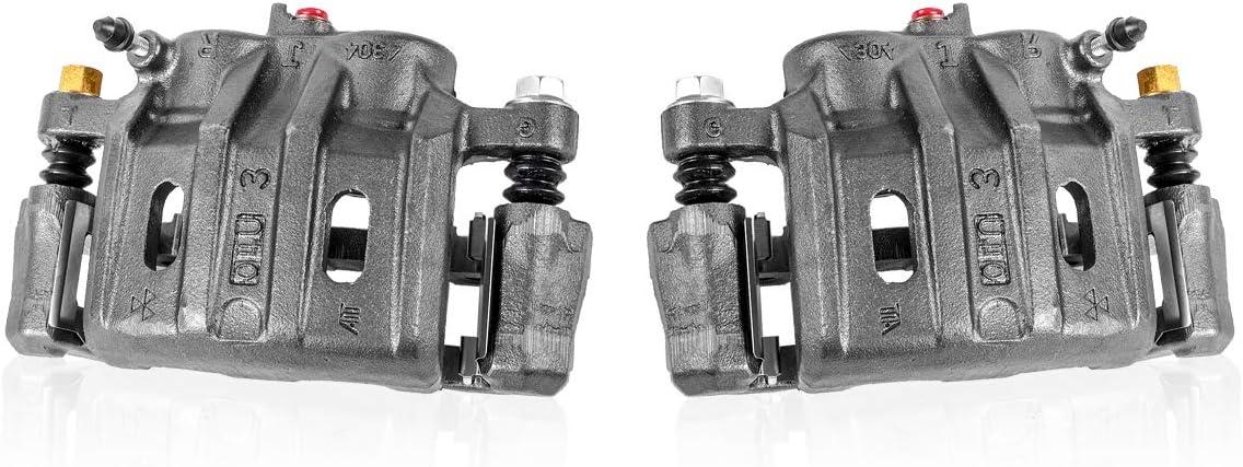Callahan CCK05886 2 FRONT Premium Calipers Clips Pair 美品 割引も実施中 + Brake