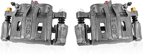 Callahan CCK04524 [2] FRONT Premium Semi-Loaded Original Brake Calipers + Hardware [ for Acura ILX Honda Civic Si CR-V ]