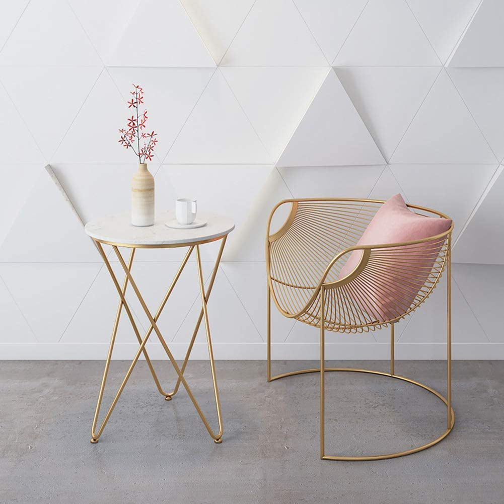 ZHENHAO Chaises Tulip Cuisine Cuisine,avec Dossier Chaise De Salle à Manger Convient pour Balcon/Chambre/Salon Chair