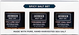 Jacobsen Salt Co. Spicy Salt Trio