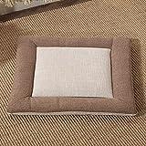 Asiento de espuma de memoria de gel fresco y almohada de soporte lumbar para silla de oficina y cojines de asiento de automóvil - Ultimate Comfort Set alivie el dolor de espalda, dolor de hueso de la