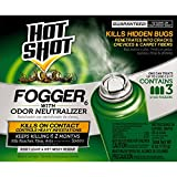 Hot Shot Indoor Fogger With Odor Neutralizer, 2-Ounce, 3 count