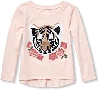 The Children's Place Toddler Girls' Long Sleeve Graphic Shirt