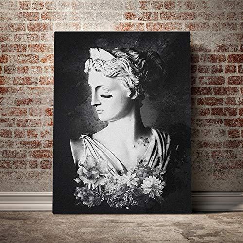 wopiaol Sin Marco Artemisa Diosa Griega Pintura Lienzo póster Pared Arte decoración Sala de Estar Dormitorio Estudio decoración del hogar Impresiones