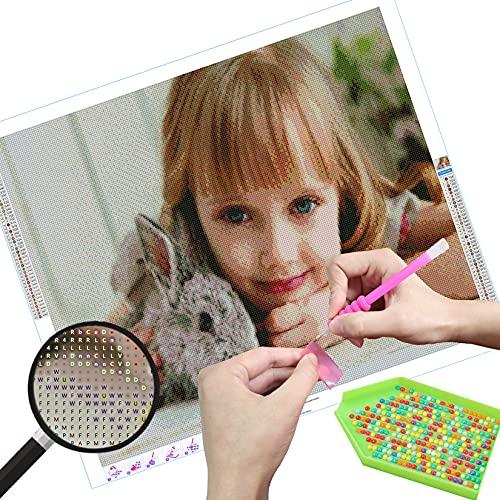 Rgzqrq Photo personnalisée DIY 5D Diamant Peinture Point De Croix Broderie Diamond Painting Kits Salon Chambre Décoration Autocollant Mural,30x30cm