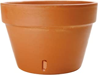 New England Pottery Orchid Pot, 4-Inch, Terra Cotta