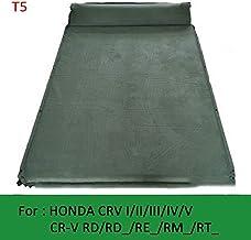 Suitable for Toyota Highlander/Kluger/Land Cruiser J1 J9 J12 J15 Car Inflatable Bed Automatic Folding Trunk Travel Pillow air Mattress Mattress, Green, T5