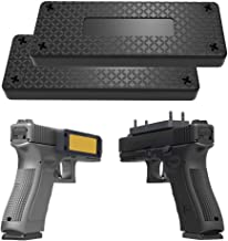 Piggy-G 2Pack Magnetic Gun Mount & Holster for Vehicle and Home - 43lb Car Holster Concealed Carry Holster for Handgun Pistol Revolver Magazine in Truck, Vehicle, Wall, Vault, Bed,Bedside