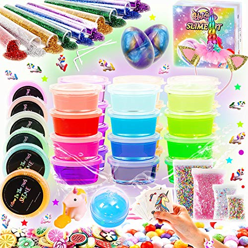 KiddosLand Unicorn Slime kit for Kids