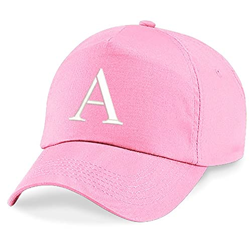 91e7af9f4f0 4sold Childrens Embroidery Cotton Summer Sun Hat Children School Kids Caps  Hat Sport Alphabet A-Z Boy