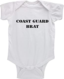 United States Coast Guard 1790 Newborn Infant Toddler Baby Girls Boys Bodysuit Short Sleeve 0-24 MonthsGray