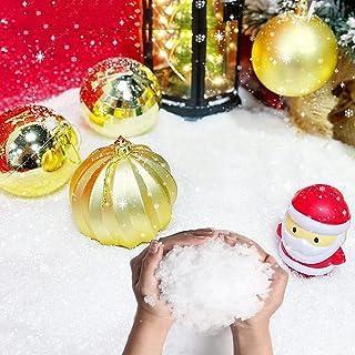 Indoor Kunstmatige Sneeuw Realistische Instant Pluizige Sneeuw Poeder Geschikt Voor Thuis, Kantoor, Party Kerst Decoratie ...