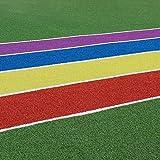 Wusfeng Kunstrasen Geeignet for Innen- und Außendekoration Farbiger Kunstrasen Kunstrasen auf Farbiger Pistenstärke 15mm 20mm (Color : 2cm, Size : 2mx1m)