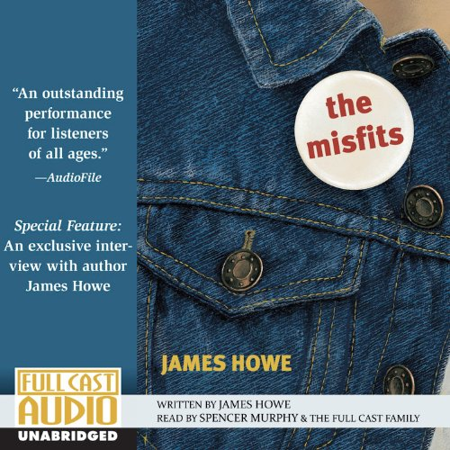 The Misfits  audiobook cover art