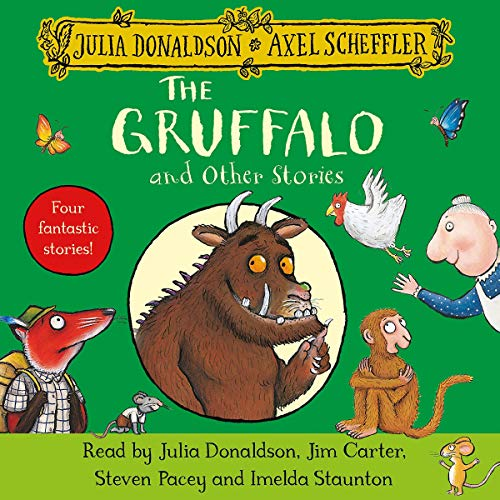 The Gruffalo and Other Stories audiobook cover art