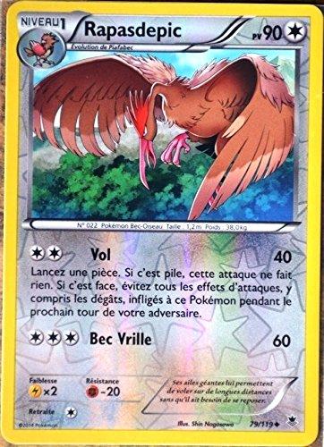 carte Pokémon 79/119 Rapasdepic 90 PV - REVERSE XY04 Vigueur spectrale NEUF FR