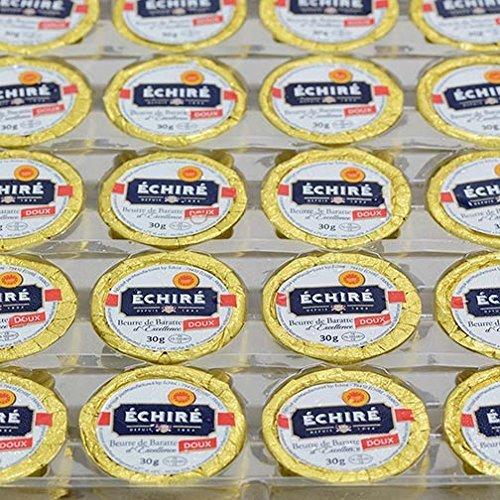 Echire Butter Refill, Unsalted - 100 X 1.1 Oz