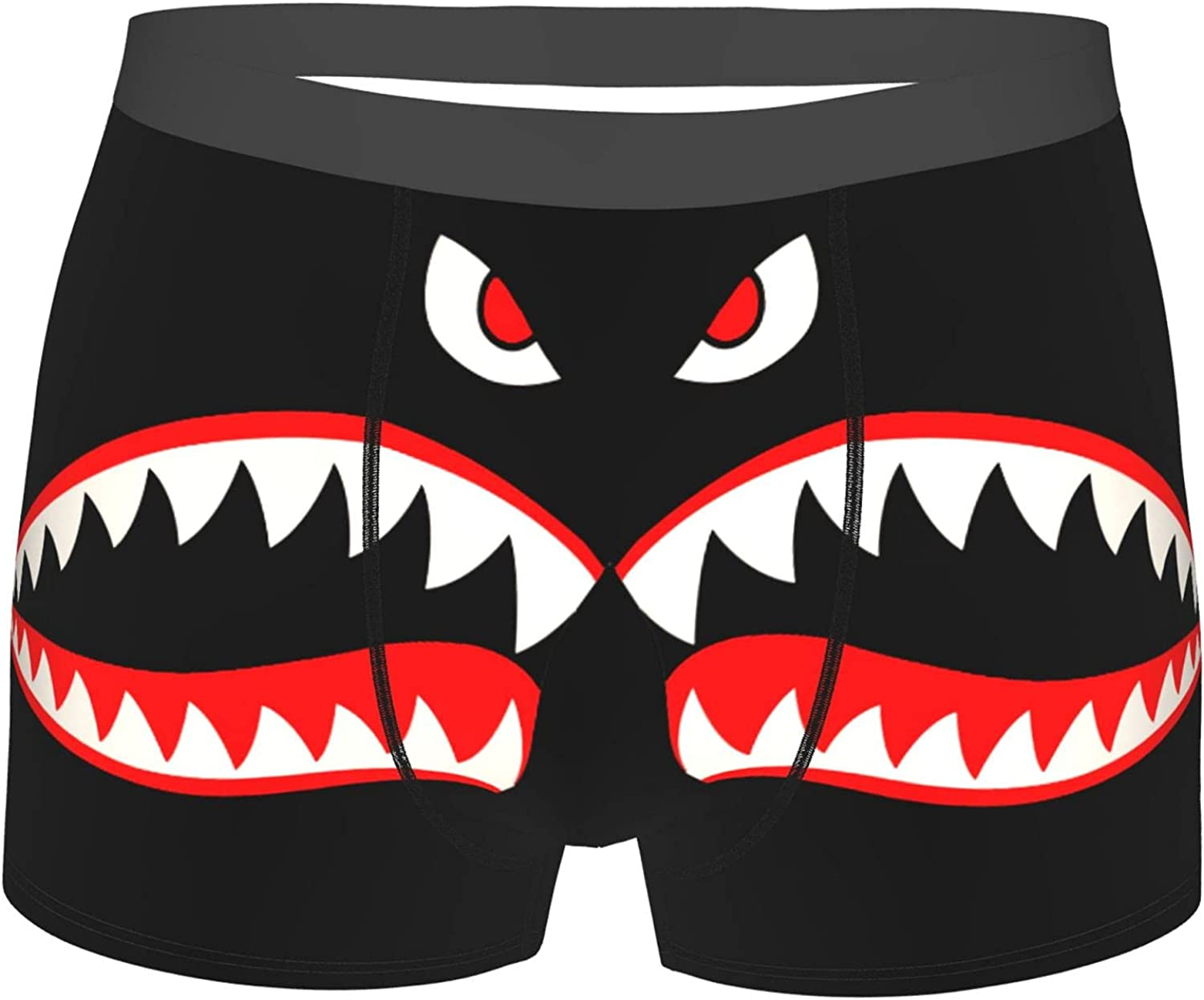 Flying Tigers P-40 Boxers Men'S Boys' Lightweight Micro Stretch Boxer Briefs