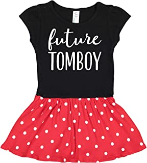 inktastic Future Tomboy Girls Funny Infant Dress