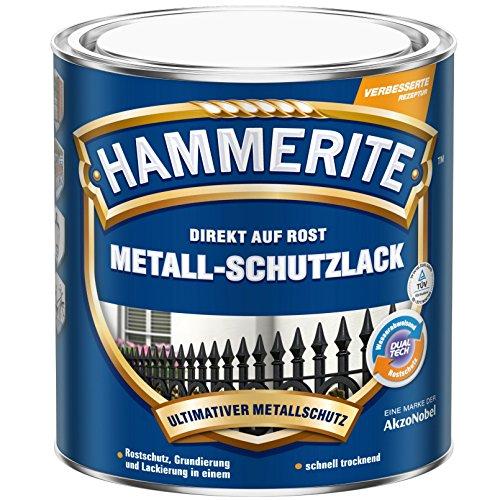 Hammerite Metall-Schutzlack glänzend weiß 2,5 L