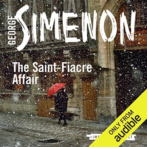 The Saint-Fiacre Affair audiobook cover art
