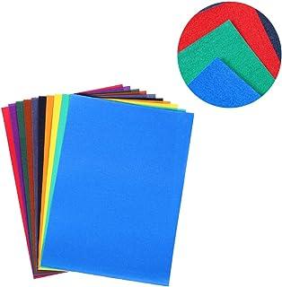 Healifty Papel de Lija Papel de Lija Abrasivo Resistente Al Agua para Pintar 10 Piezas 4K (Color Mezclado)