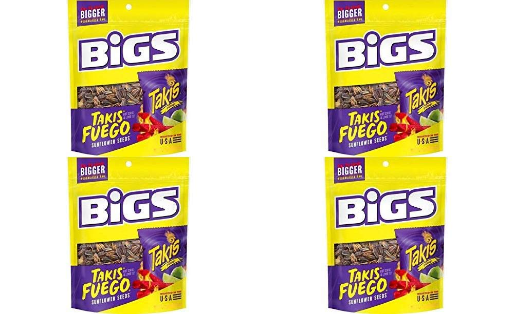BIGS Takis Fuego Sunflower Outlet sale feature Seeds 3.63 Pack Bag oz of 3 Rare