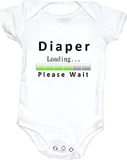Vulgar Baby Bodysuit, Diaper Loading