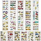 15 piezas de tatuajes impermeable niños Sticker - juguete creativo de la historieta - temporal de coche for niños Decoración - Pegatinas DOISLL
