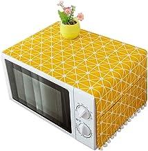 HHYK Nuevo Horno de microondas Campana Aceite de la Cubierta de Polvo con Bolsa de Almacenamiento Accesorios Cocina de la decoración del hogar