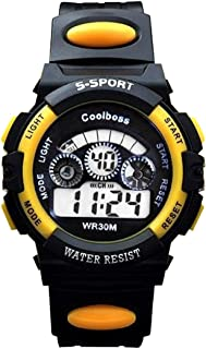 Souarts Multi Function Digital Chronograp Strap Quartz Watch Electronic Sport Students Watch