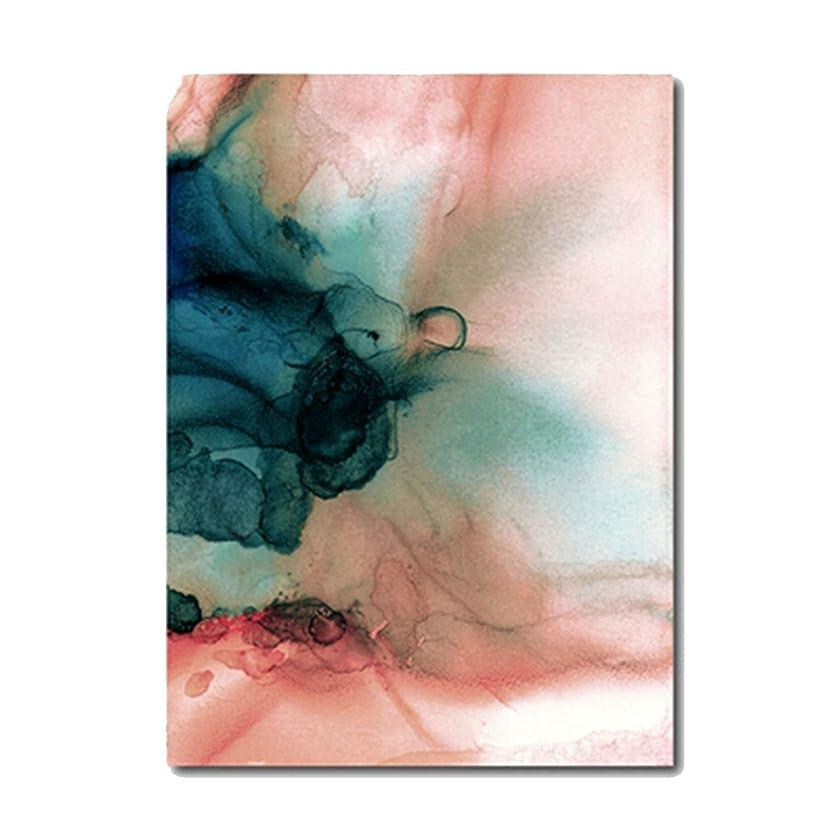 技術者インカ帝国薬局ピンク花緑植物ポスタープリントキャンバス絵画写真ホームウォールアートデコレーションウォールステッカー、50X70 cmフレームなし、写真Color2