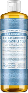 DR BRONNERS Organic Baby Pure Castille Liquid Soap 475ml (PACK OF 1)