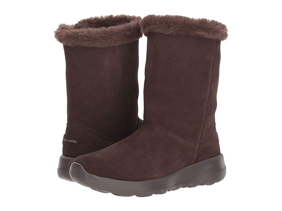 SKECHERS Performance On the Go Joy Winter Snow (Chocolate) Women