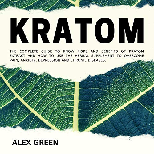 Kratom audiobook cover art