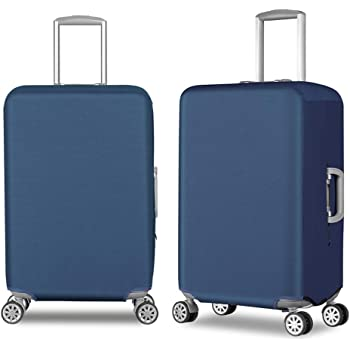 Elastic Travel Luggage Cover Beautiful Leaves Suitcase Protector for 18-20 Inch Luggage