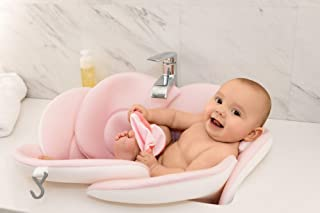 Soothing Company - Baby Bath Pillow - Infant Tub Cushion, Quick Drying Mat for Infant Bathing (Pink)