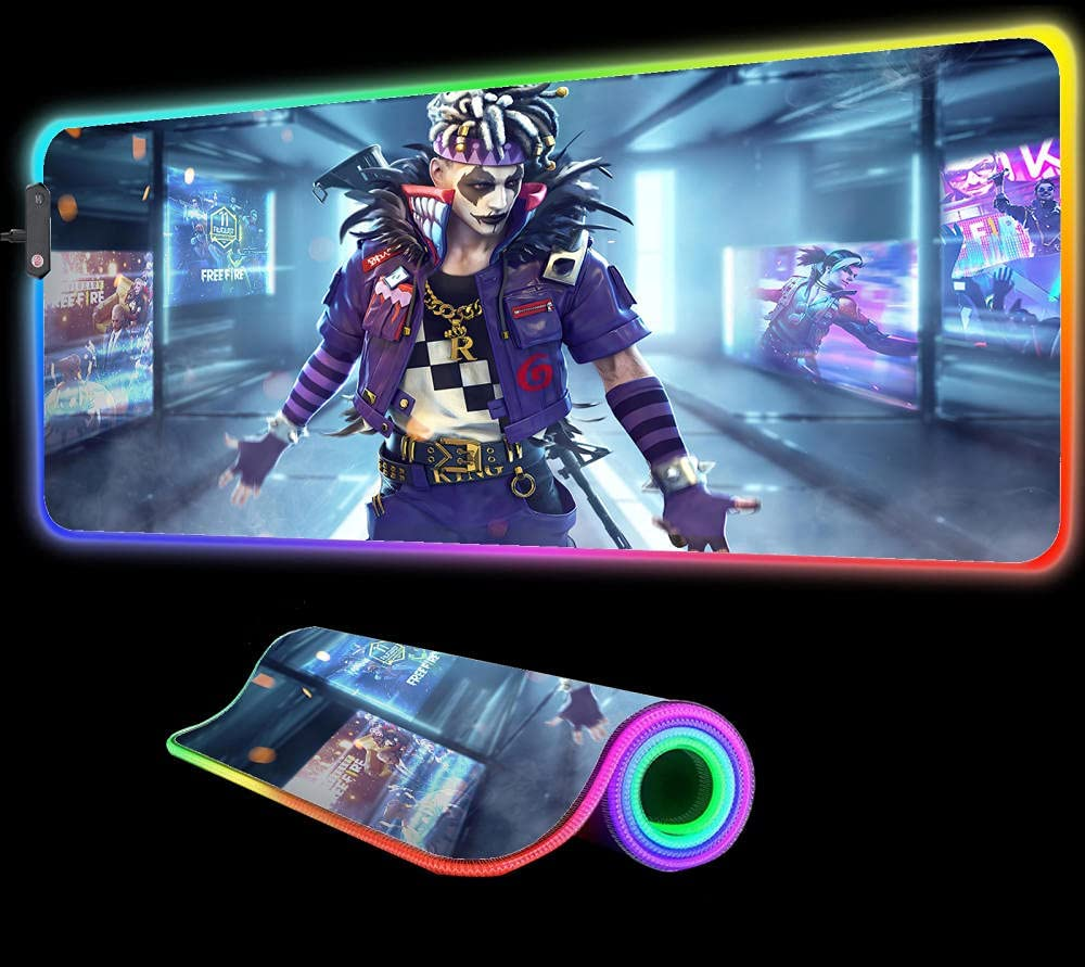 Gaming Mouse Pad Free Mail order cheap RGB Super sale Comput Games Fire