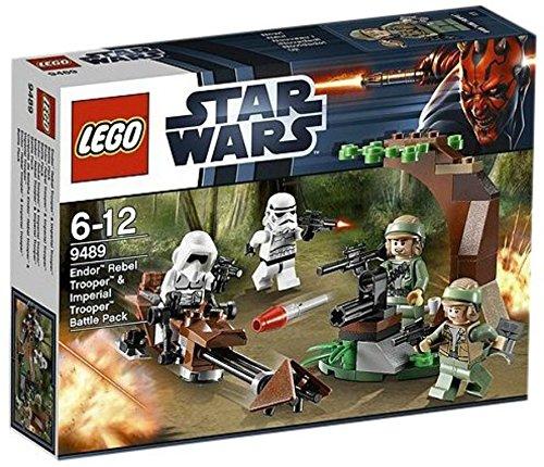 レゴ (LEGO) スター・ウォーズ エンドアの反乱軍兵士(TM) VS 帝国軍トルーパー(TM) バトルパック 9489