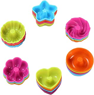 FITYLE 24x Silicone Doughnut Cake Pop Mould DIY Jelly Donuts Mold Baking Decoration