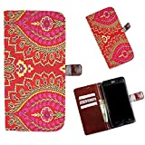 Snooky Printed Colorful Pattern Mobile Flip Cover of Samsung Galaxy Note 7