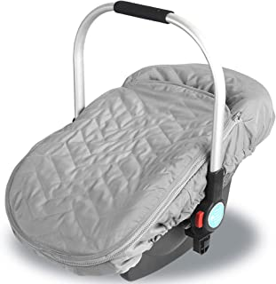 Infant Car Seat Cover:Infant Carrier Winter Canopy Keeping Your Baby Warm in Cold Weather for Babies(0-6 Months)