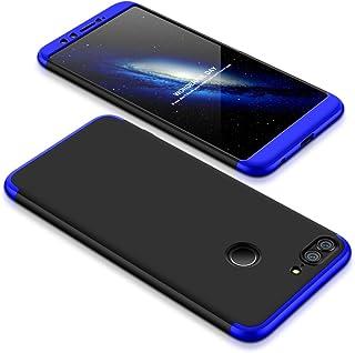 8b3d80e9295 Funda para Huawei Honor 9 Lite, Bigcousin Funda 360 grados Protección Ultra  Slim Cubierta PC Hard Case + Cristal Templado ,3 in 1 Carcasa Case Cover  para ...