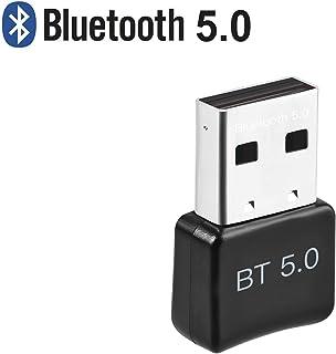 ACTGON Adaptador de Bluetooth 5.0 USB para Computadora, Escritorio, Mouse Inalámbrico, Bluetooth USB Dongle Compatible con Windows 10, 8,7, XP, Vist