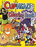 Cuphead Coloring Book: Anxiety Cuphead Coloring Books For Adults And Kids Relaxation And Stress Relief With 50+ Coloring Pages