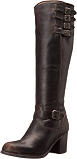 FRYE Women's Kelly Belted Tall-STO Engineer Boot
