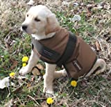 Light Brown Waterproof Dog Coat