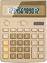 $57 » Basic Calculator Solar Powered Calculator 12-Digit Calculator Large Screen Display Large Buttons Accounting Office Design ...